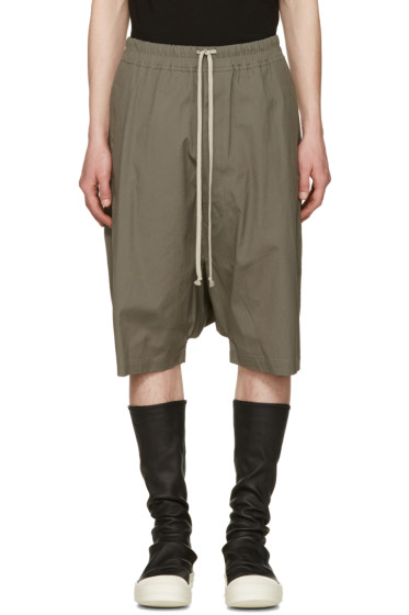 Rick Owens - Grey Ricks Pods Shorts