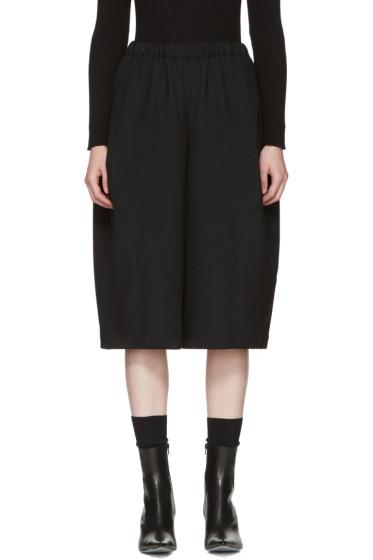 Comme des Garçons - Black Wool Trousers