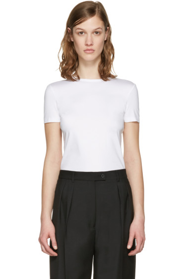 Jil Sander - White Cotton T-Shirt