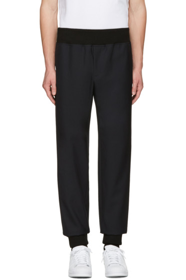 A.P.C. - Black Wool Lounge Pants