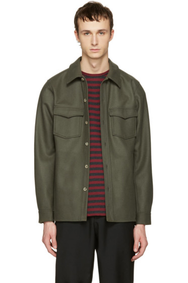 A.P.C. - Green Bleach House Shirt