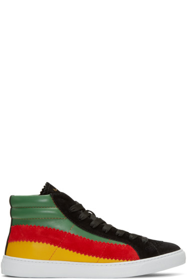 Paul Smith - Multicolor Lynn High-Top Sneakers