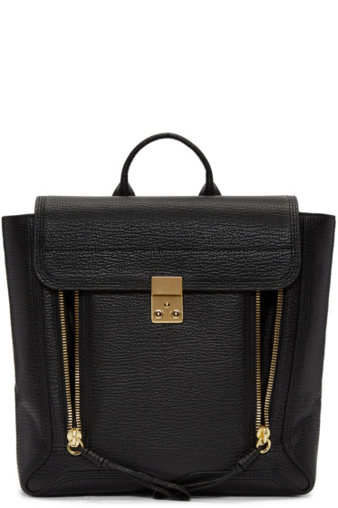 3.1 Phillip Lim - Black Pashli Backpack