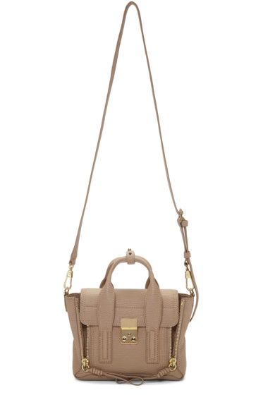 3.1 Phillip Lim - Beige Mini Pashli Satchel