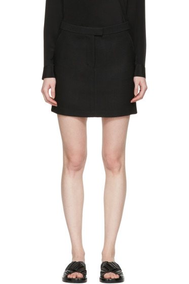 3.1 Phillip Lim - Black Tailored Miniskirt