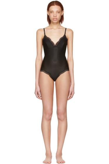 Calvin Klein Underwear - Black Lace Tank Bodysuit