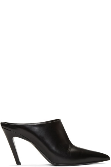 Balenciaga - Black Knife Mules