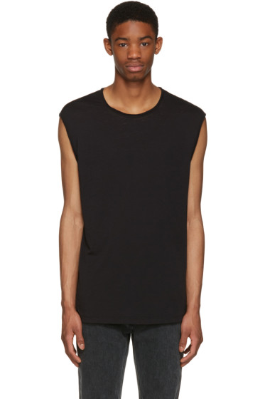 BLK DNM - Black Relaxed Muscle 57 T-Shirt