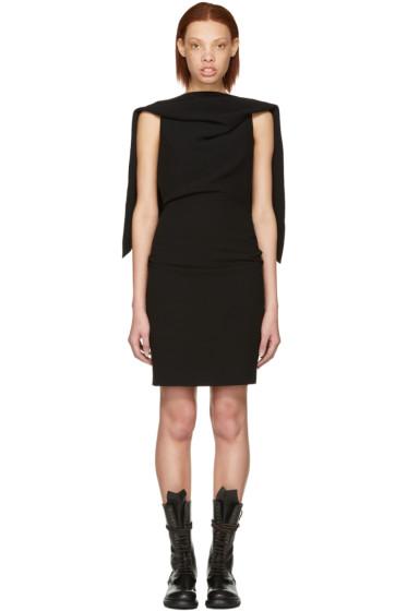 Gareth Pugh - Black Triangle Backless Dress