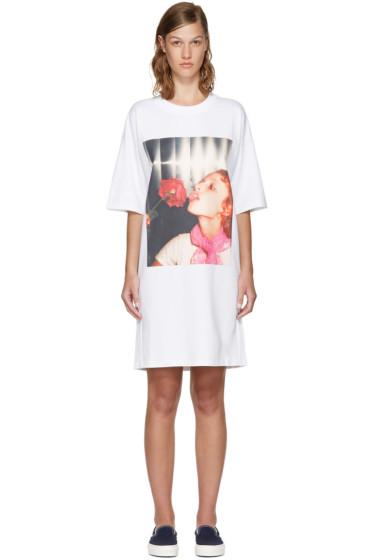 Kenzo - White Donna Jordan Oversized T-Shirt Dress