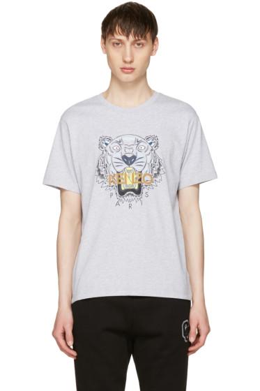 Kenzo - Grey Tiger T-Shirt