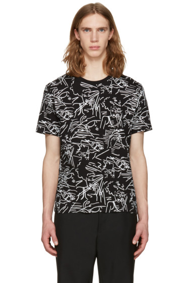 Kenzo - Black Sketches T-Shirt