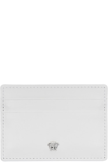Versace - White Medusa Card Holder