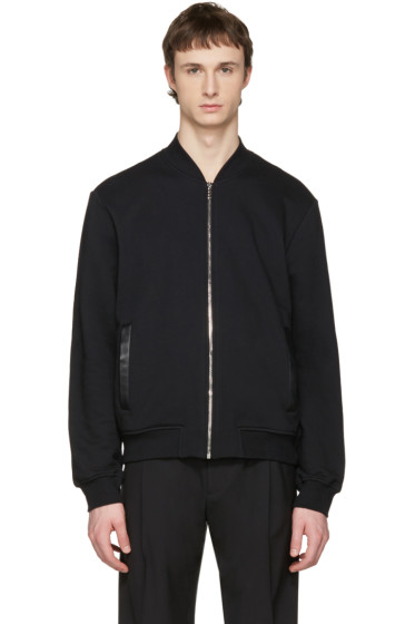 Versace - Black Medusa Zip-Up Sweater