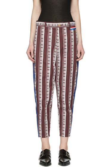 Undercover - Burgundy Piano Trousers