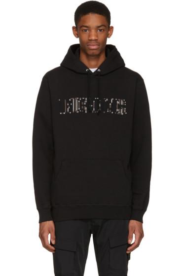 Undercover - Black Cross-Stitch Hoodie