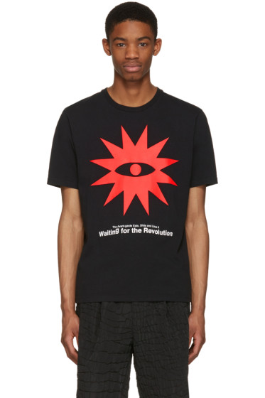 Undercover - Black 'Waiting For The Revolution' T-Shirt