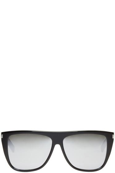 Saint Laurent - Black SL 1 Sunglasses