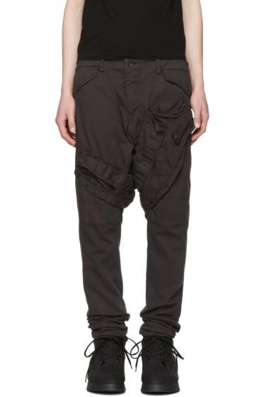 Julius - Grey Signature Cargo Pants