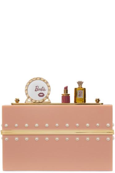 Charlotte Olympia - Pink Barbie Edition 'Barbie World' Clutch