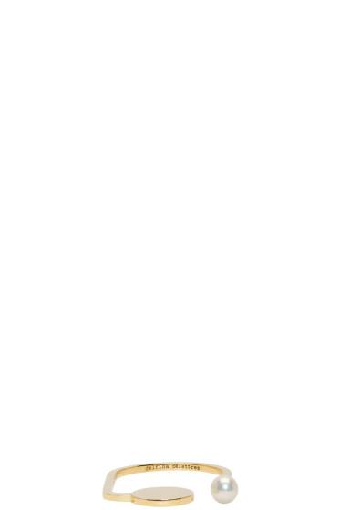 Delfina Delettrez - ゴールド ABC パール リング
