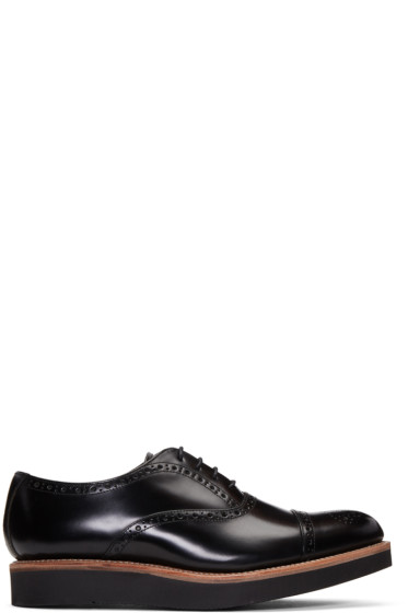 Grenson - Black Matthew Brogues