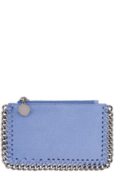 Stella McCartney - Blue Falabella Card Holder