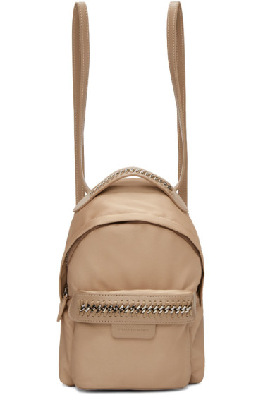 Stella McCartney - Pink Mini Falabella GO Backpack