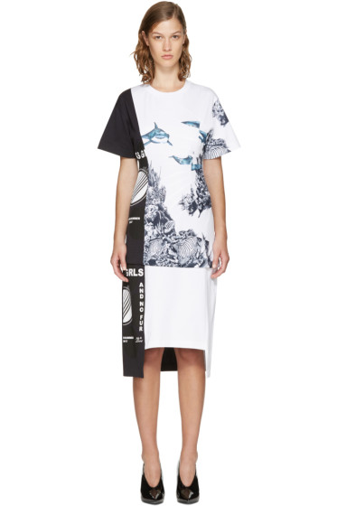 Stella McCartney - White 'Thanks Girls' Carlotta Dress