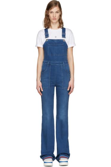 Stella McCartney - Blue Denim Overalls