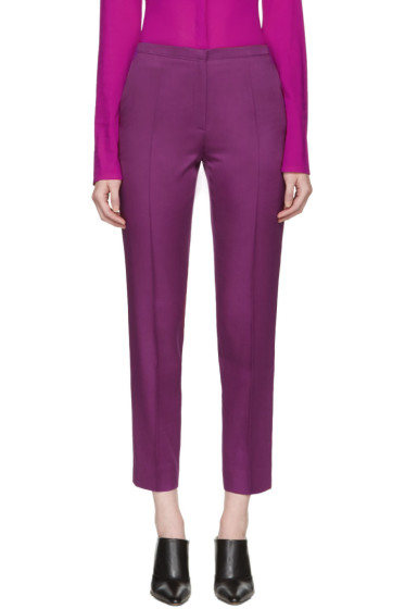 Nina Ricci - Purple Cropped Trousers