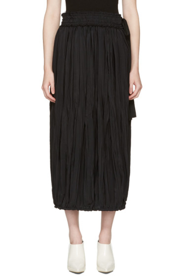 J.W. Anderson - Black Pleated Skirt