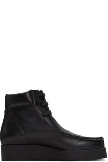 Calvin Klein Collection - Black Wally Boots