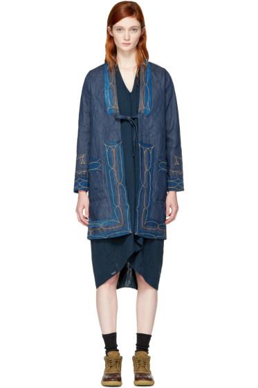 Visvim - Blue Denim Ruunpe Coat
