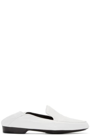 Robert Clergerie - White Fanim Loafers