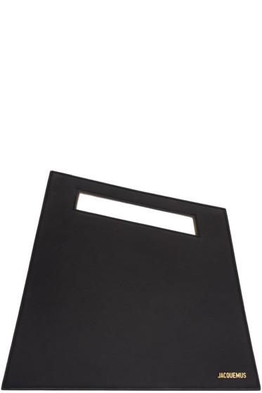 Jacquemus - Black 'Le Grand' Clutch
