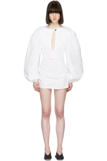Jacquemus - White 'La Blouse' Shirt Dress