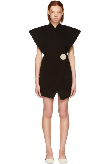 Jacquemus - Black 'Le Long Cardigan' Dress