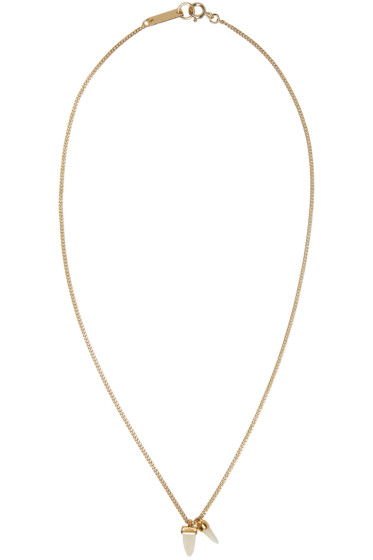 Isabel Marant - Gold 'It's All Right' Necklace