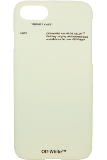 Off-White - グリーン コーポレート iPhone 7 ケース
