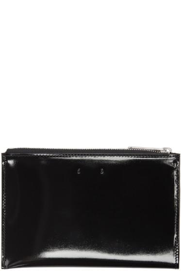 PB 0110 - Black Patent Leather CM 12 Pouch