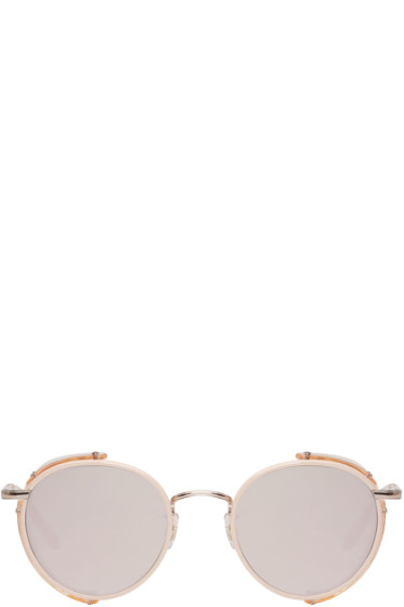 Garrett Leight - Pink Wilson Sun Shield Sunglasses