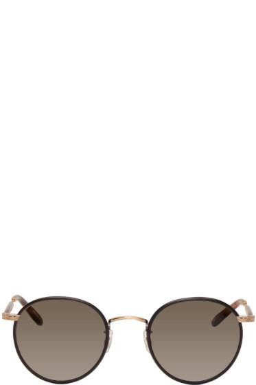 Garrett Leight - Black Wilson Sunglasses