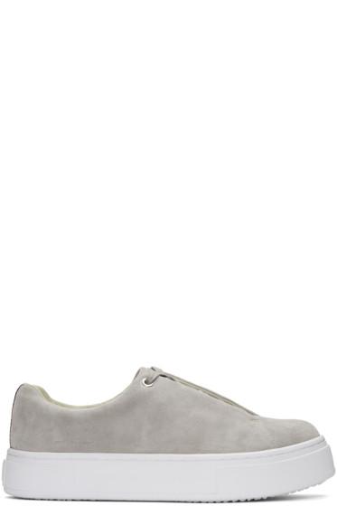 Eytys - Grey Suede Doja Sneakers