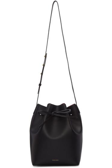 Mansur Gavriel - Black Leather Bucket Bag