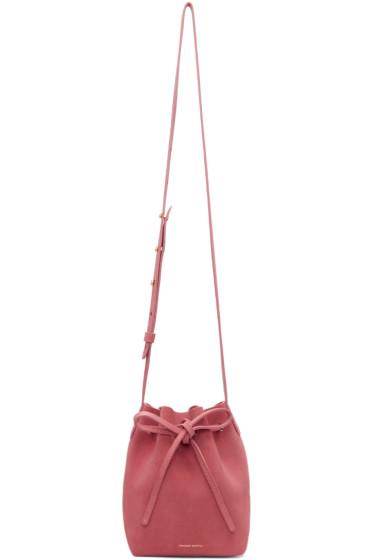 Mansur Gavriel - Pink Mini Mini Bucket Bag
