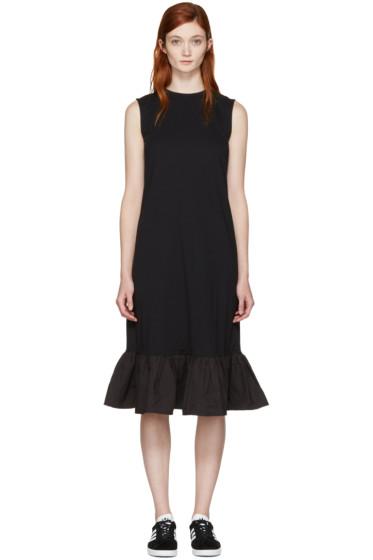 Edit - ブラック ペプラム ドレス