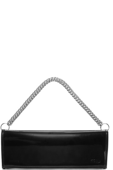 Vetements - Black Eastpak Edition Patent Clutch