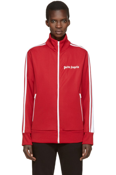 Palm Angels - Red Logo Track Jacket