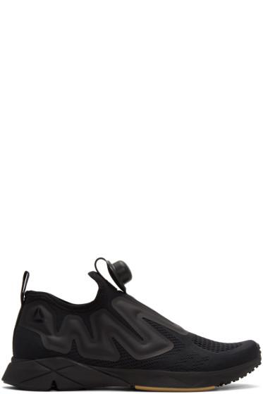 Reebok Classics - Black Pump Supreme Engineers Sneakers